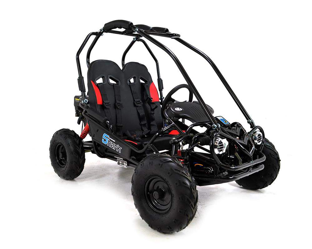 funbikes shark rv50 156cc petrol black mini off road buggy. Black Bedroom Furniture Sets. Home Design Ideas