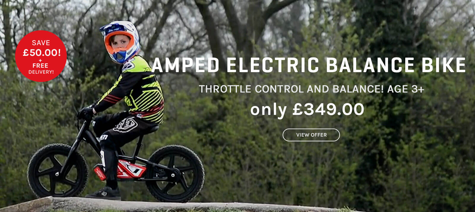 Electric Balace Bikes From Funbikes