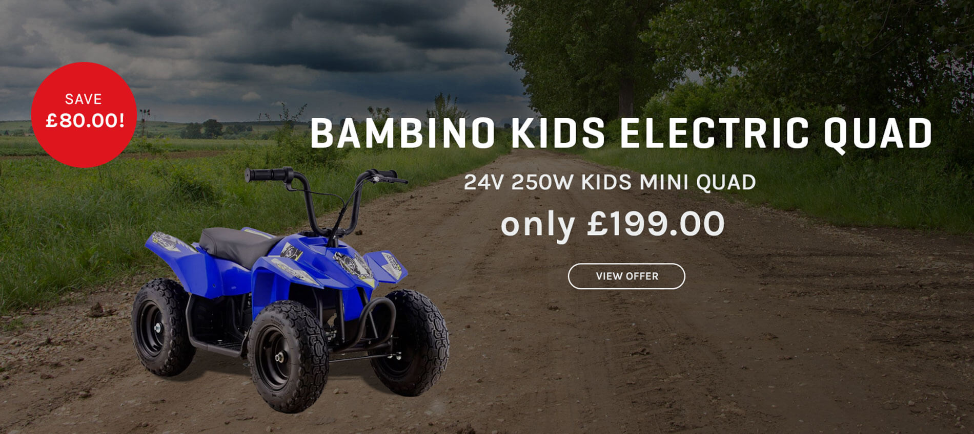 Bambino Mini Quad Bike