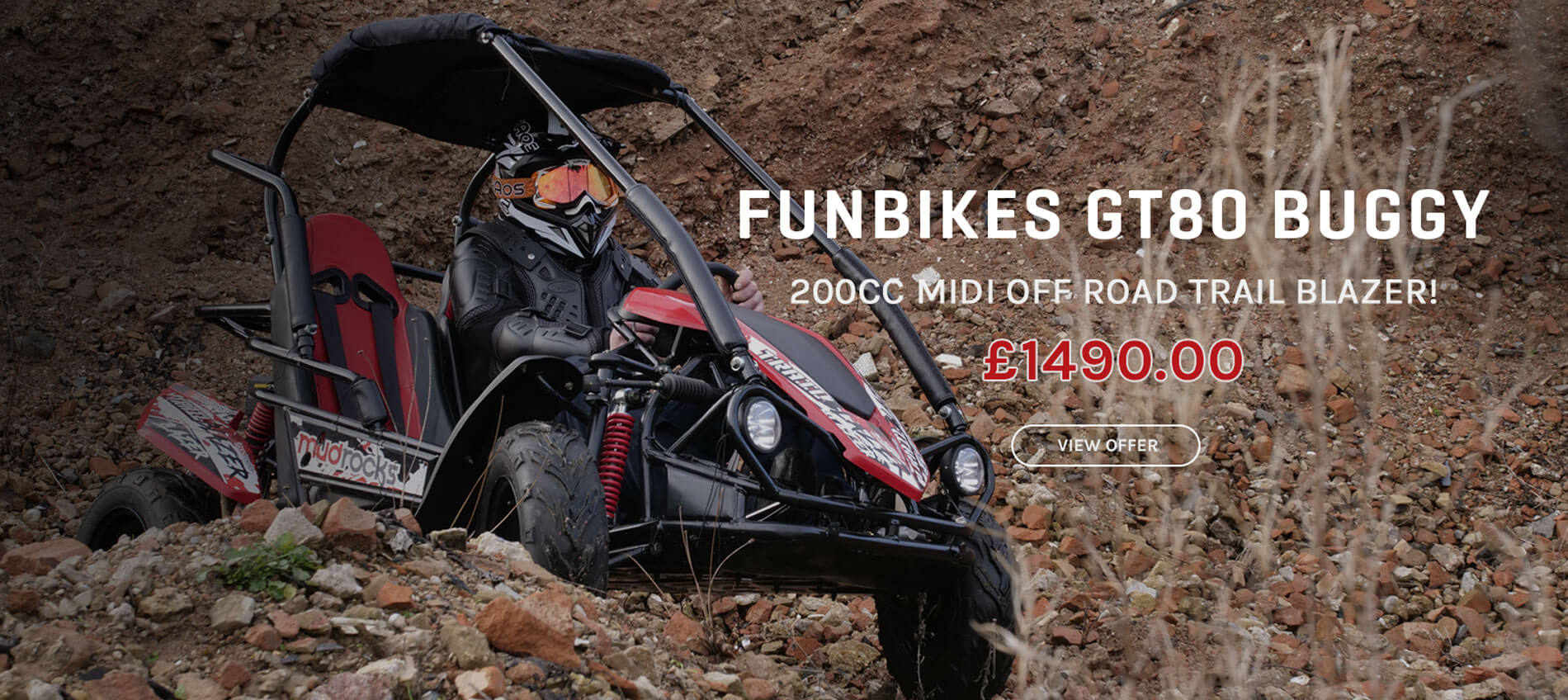 Funbikes GT80 Off Road Buggy