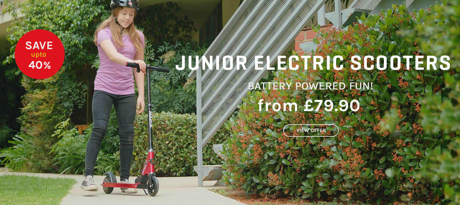 Junior Electric Scooter Offers From Funbikes