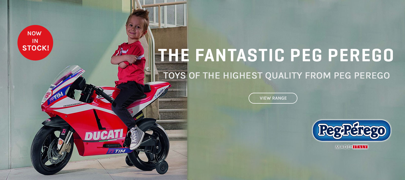 Peg Perego available at Funbikes