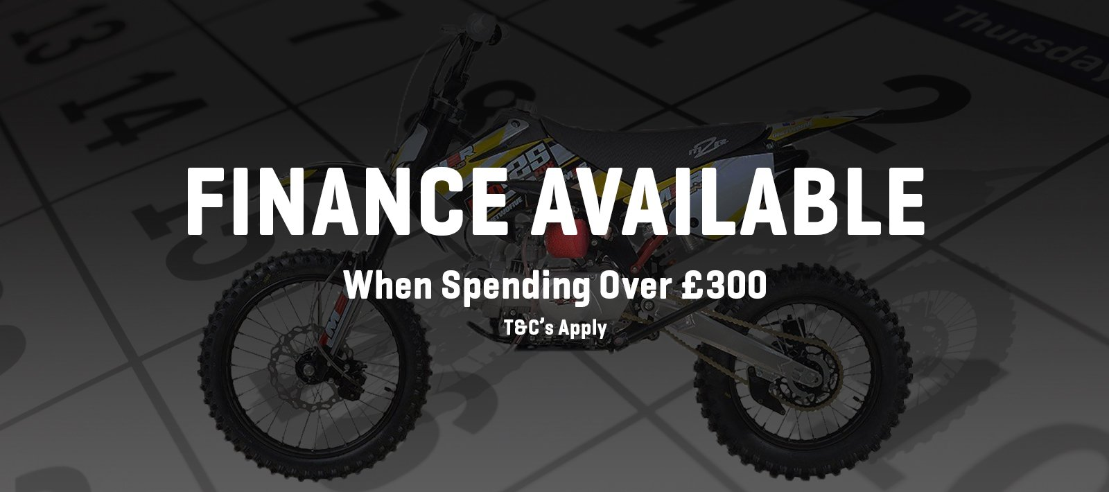 Quad and pit bike finance