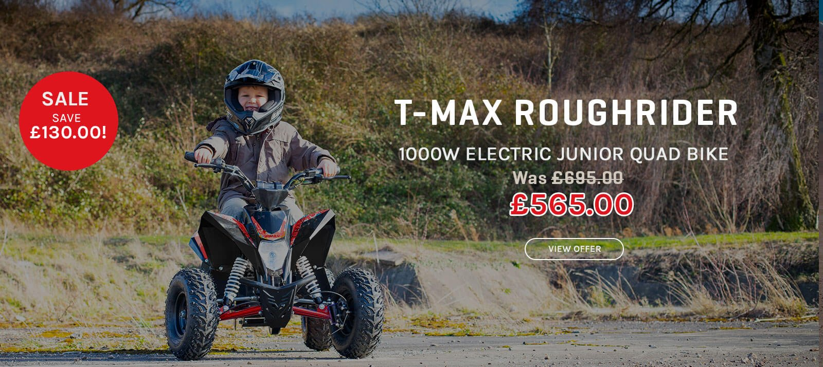 Junior Quad bike Offer