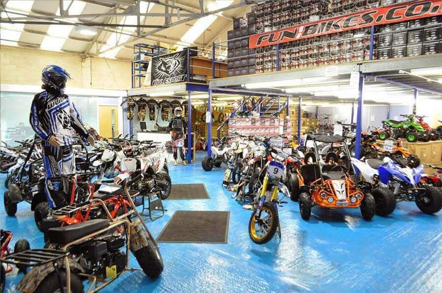 Funbikes Showroom