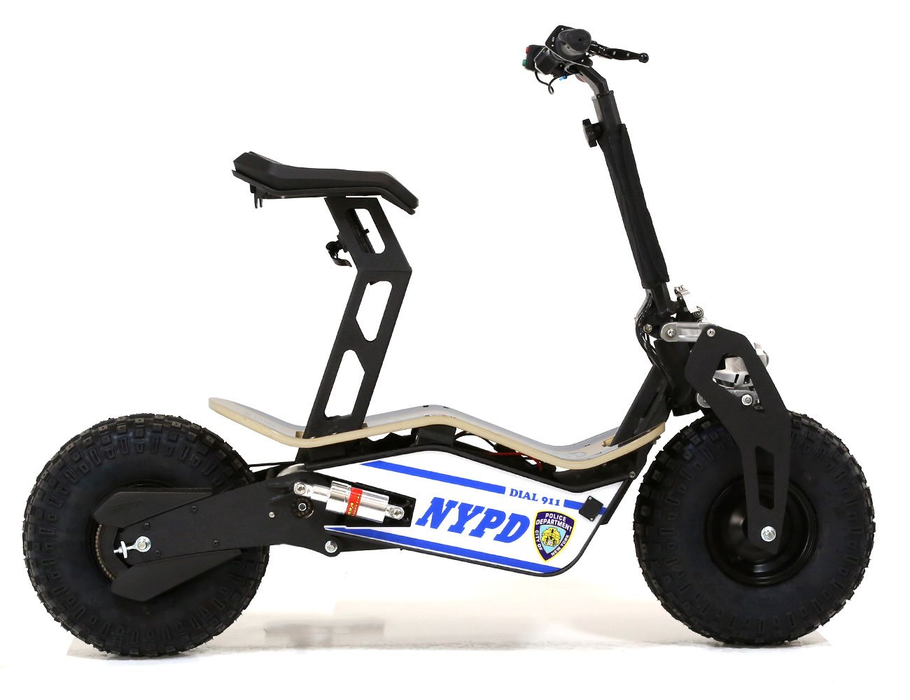 Velocifero Mad 48 Volt 1600w Nypd Blue Electric Scooter