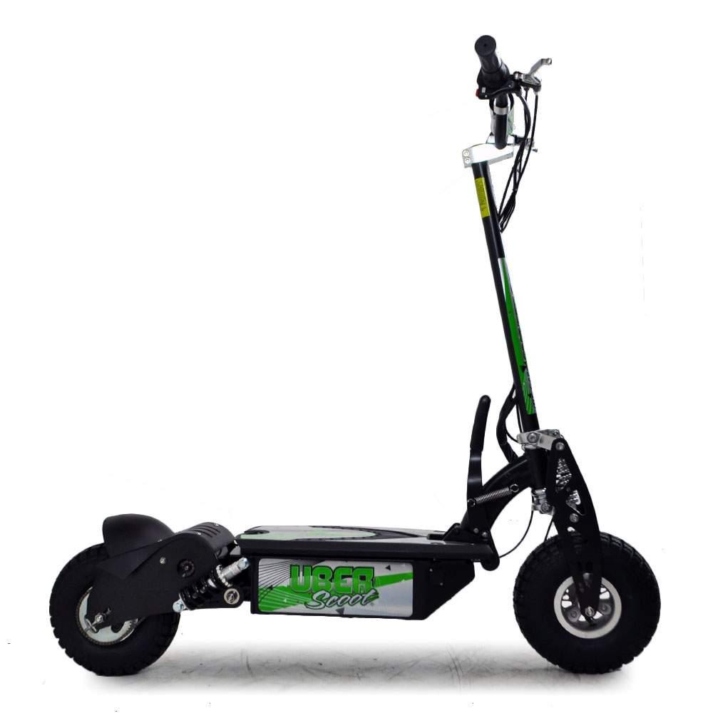 uber scoot 36 volt 800w battery powered electric scooter. Black Bedroom Furniture Sets. Home Design Ideas