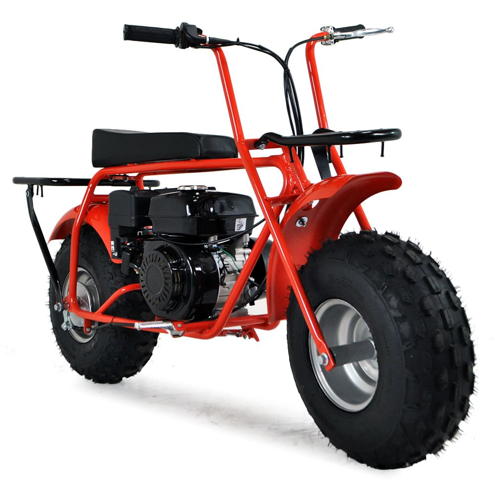 baja big wheel 200cc 72cm red all terrain sand bike. Black Bedroom Furniture Sets. Home Design Ideas