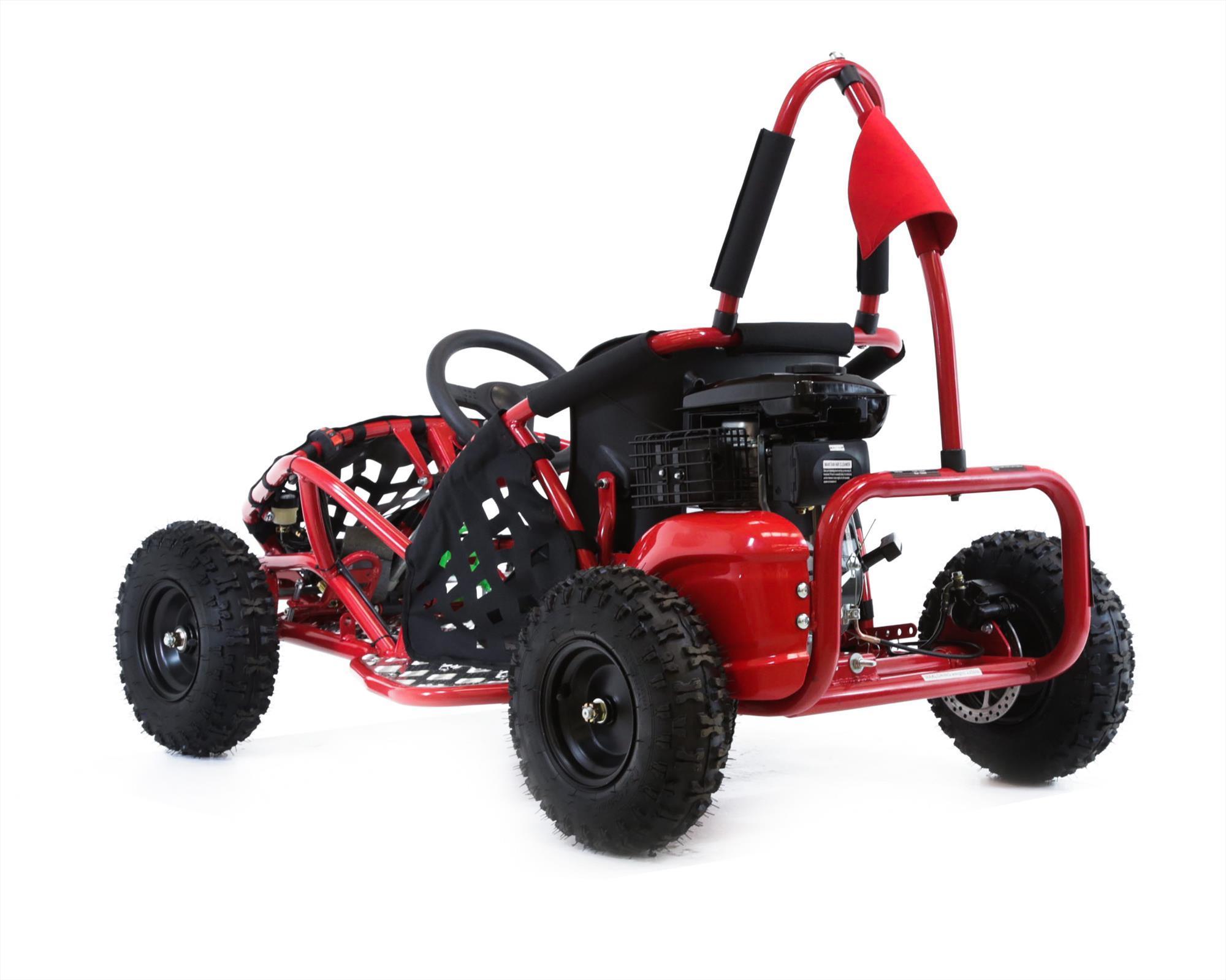 funbikes funkart 79cc petrol red kids mini go kart. Black Bedroom Furniture Sets. Home Design Ideas