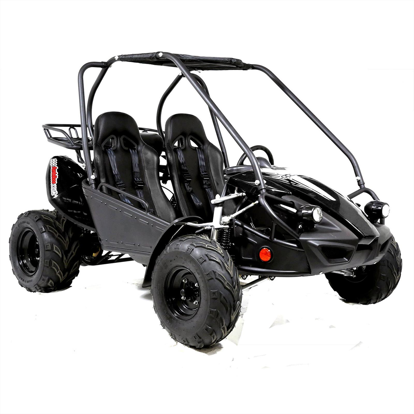 Funbikes GTS150 150cc Black Super Sport Off Road Buggy