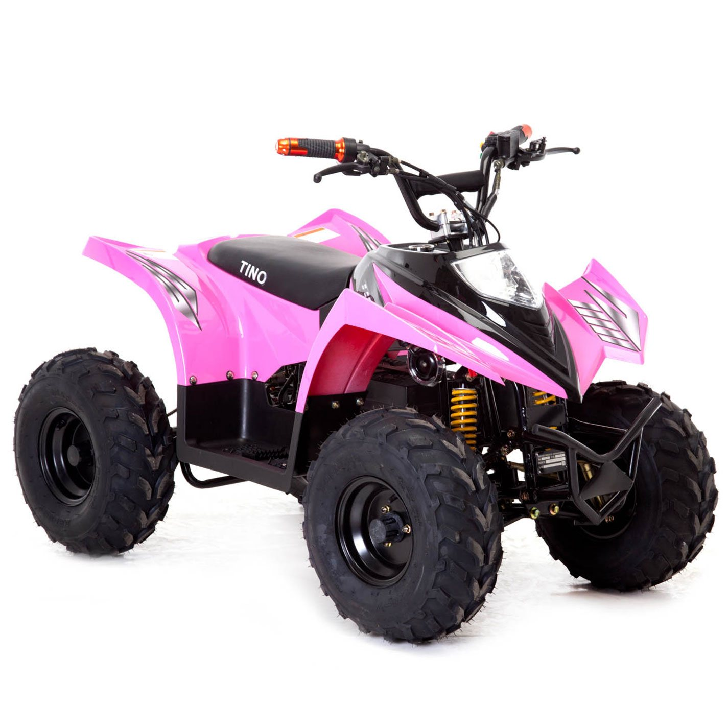 funbikes tino rally 750w pink electric childs quad bike. Black Bedroom Furniture Sets. Home Design Ideas