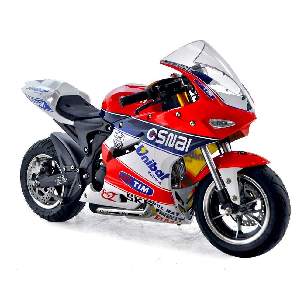 funbikes dp4 50cc blue red midi moto race bike. Black Bedroom Furniture Sets. Home Design Ideas