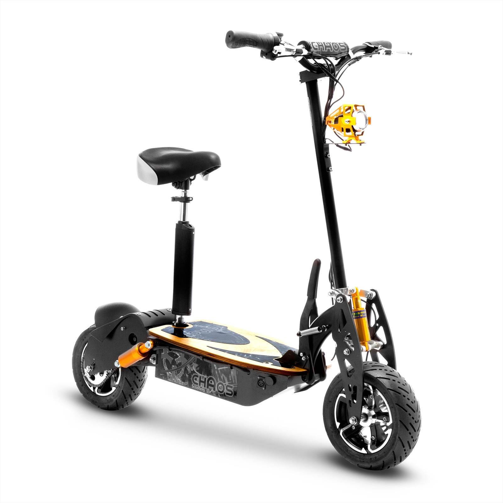 Chaos Sport 48 Volt 1600w Electric Scooter Big Wheel Powerboard 49cc Wiring Diagram Scooters For Sale