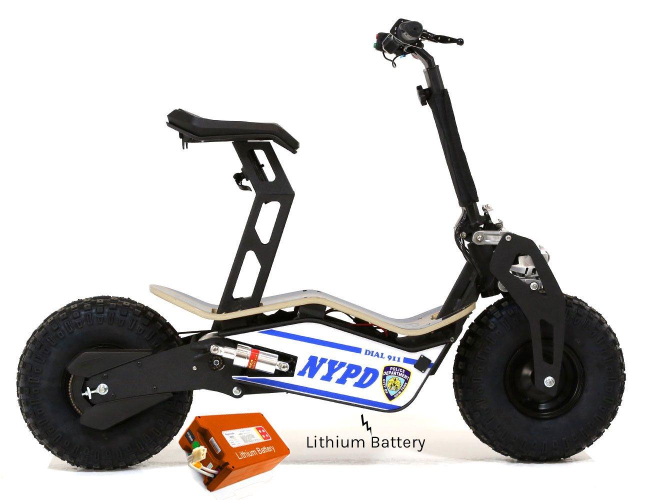 velocifero mad 48 volt 1600w lithium battery nypd blue. Black Bedroom Furniture Sets. Home Design Ideas