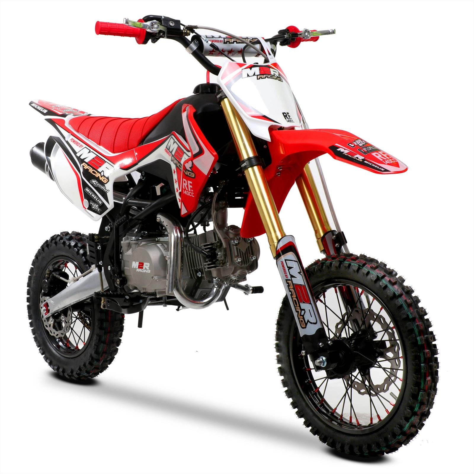 m2r racing rf140 s2 140cc 14 12 82cm red pit bike. Black Bedroom Furniture Sets. Home Design Ideas