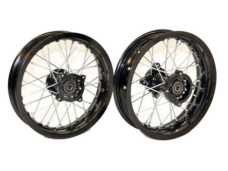 Pit Bike Motard Supermoto 12 Wheel Set