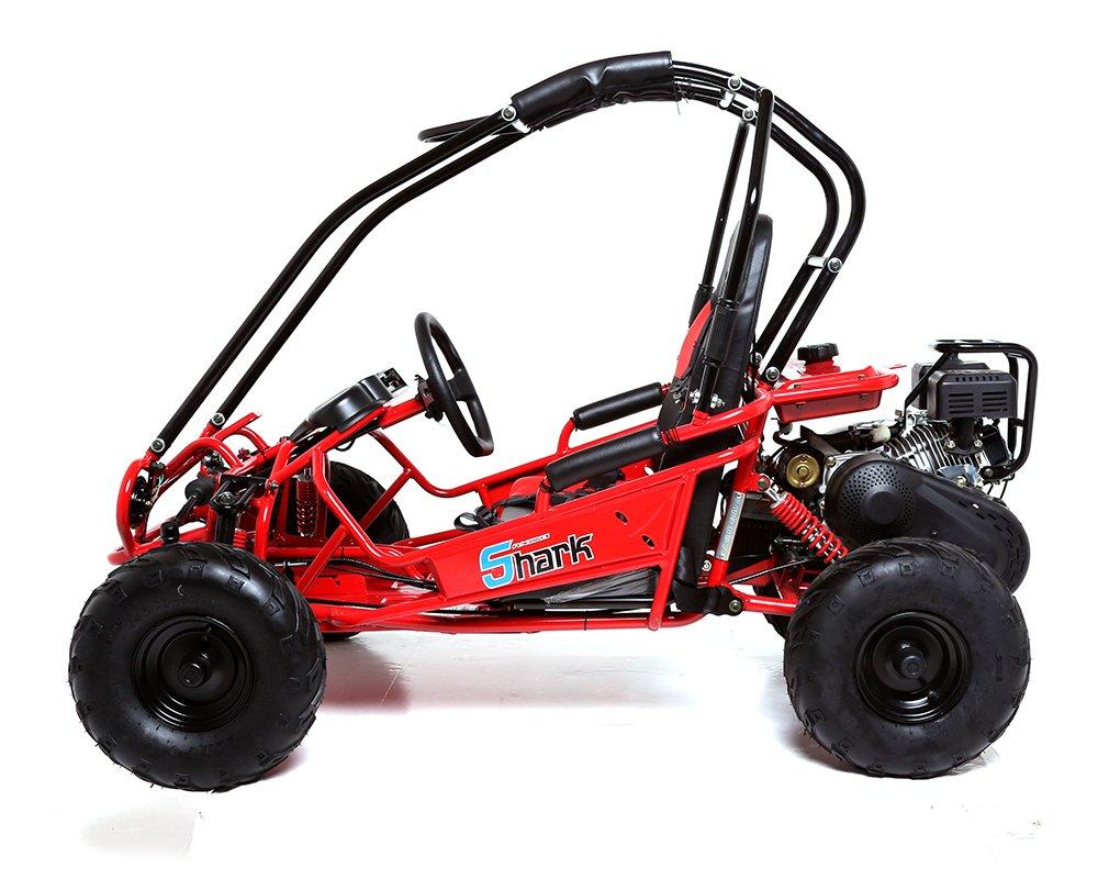Funbikes Shark Rv50 156cc Petrol Red Mini Off Road Buggy