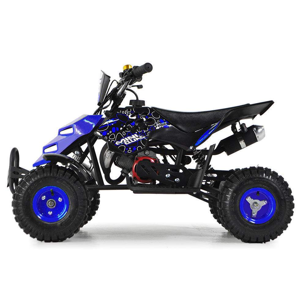 FunBikes 49cc Petrol Blue Kids Mini Quad Bike