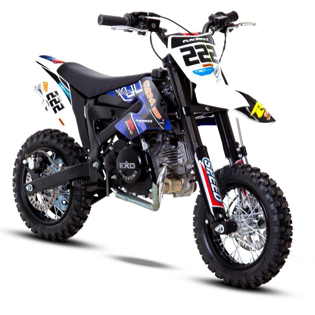 Funbikes Cobra 4s 50cc 62cm Blue Kids Mini Dirt Bike
