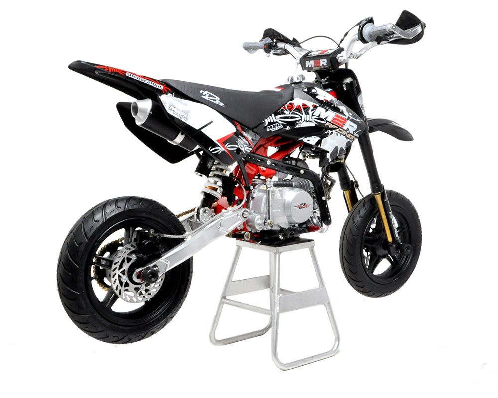 m2r racing km140sm 140cc petrol 82cm supermoto pit bike. Black Bedroom Furniture Sets. Home Design Ideas