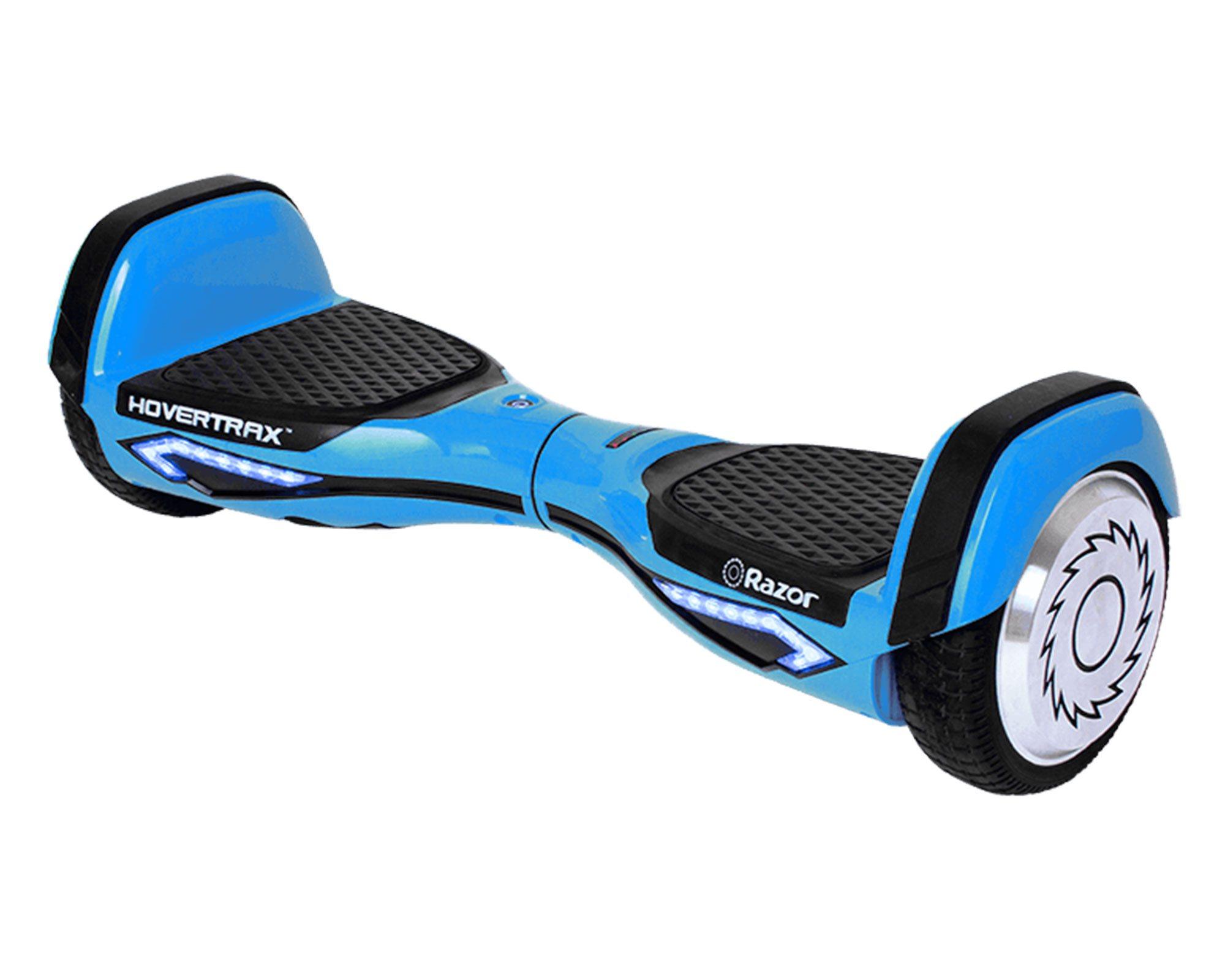 razor hovertrax 2 0 hoverboard blue self balancing smart. Black Bedroom Furniture Sets. Home Design Ideas