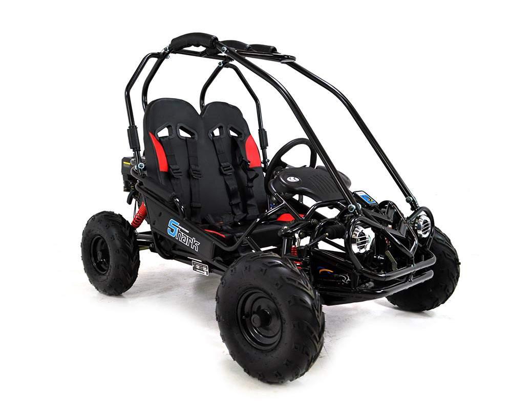 Kids Dune Buggy >> FunBikes Shark RV50 156cc Black Mini Off Road Buggy
