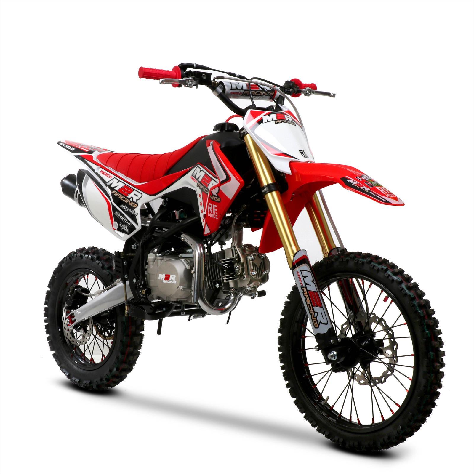m2r racing rf140 s2 140cc 17 14 86cm red dirt bike. Black Bedroom Furniture Sets. Home Design Ideas