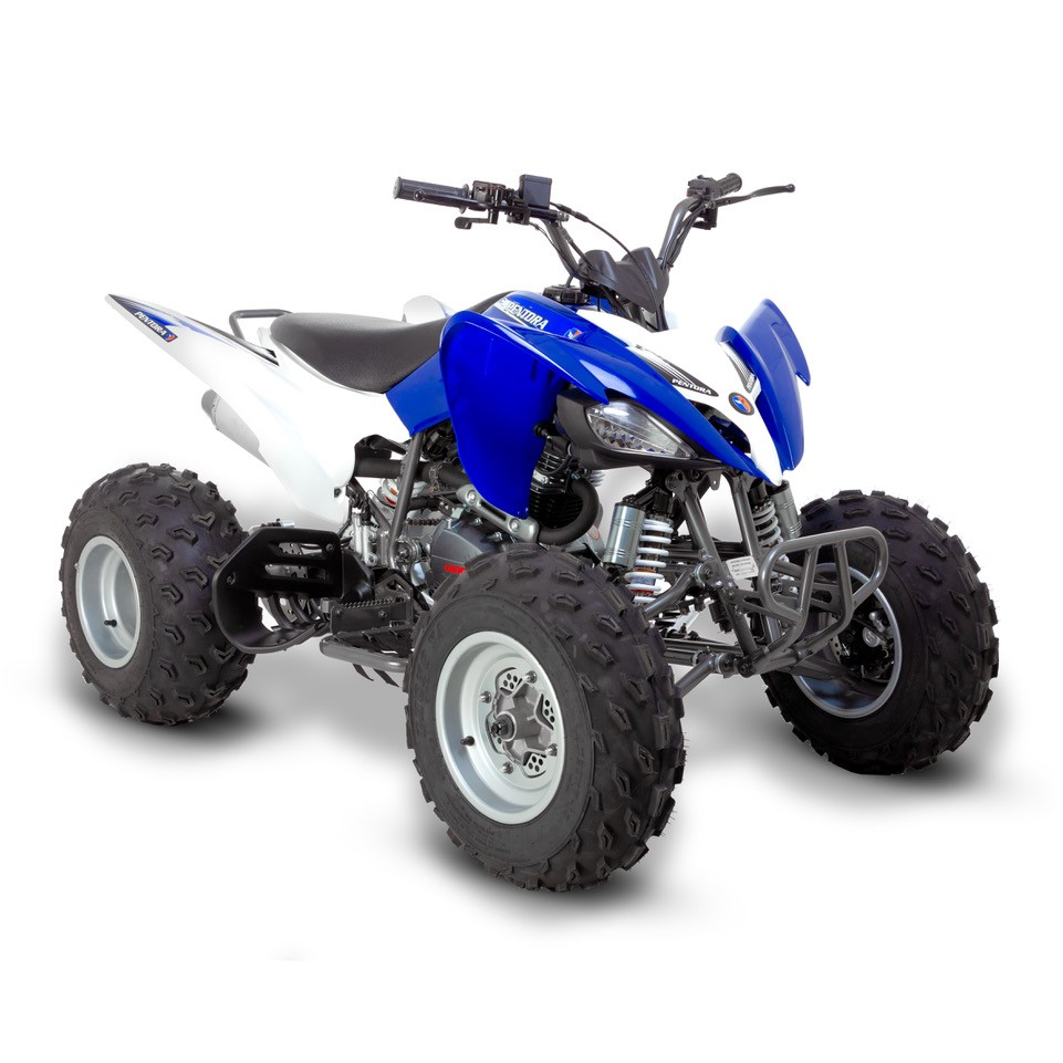 Street Bike Quad: Pentora 250cc Blue Sports Adult Quad Bike