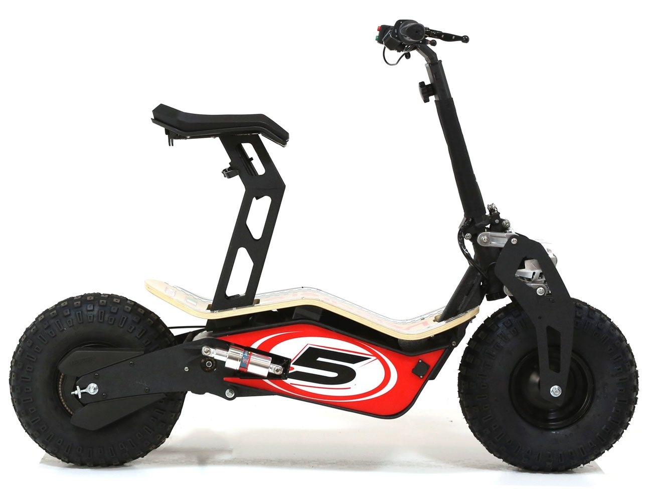 velocifero mad 48 volt 1600w red no 5 electric scooter. Black Bedroom Furniture Sets. Home Design Ideas