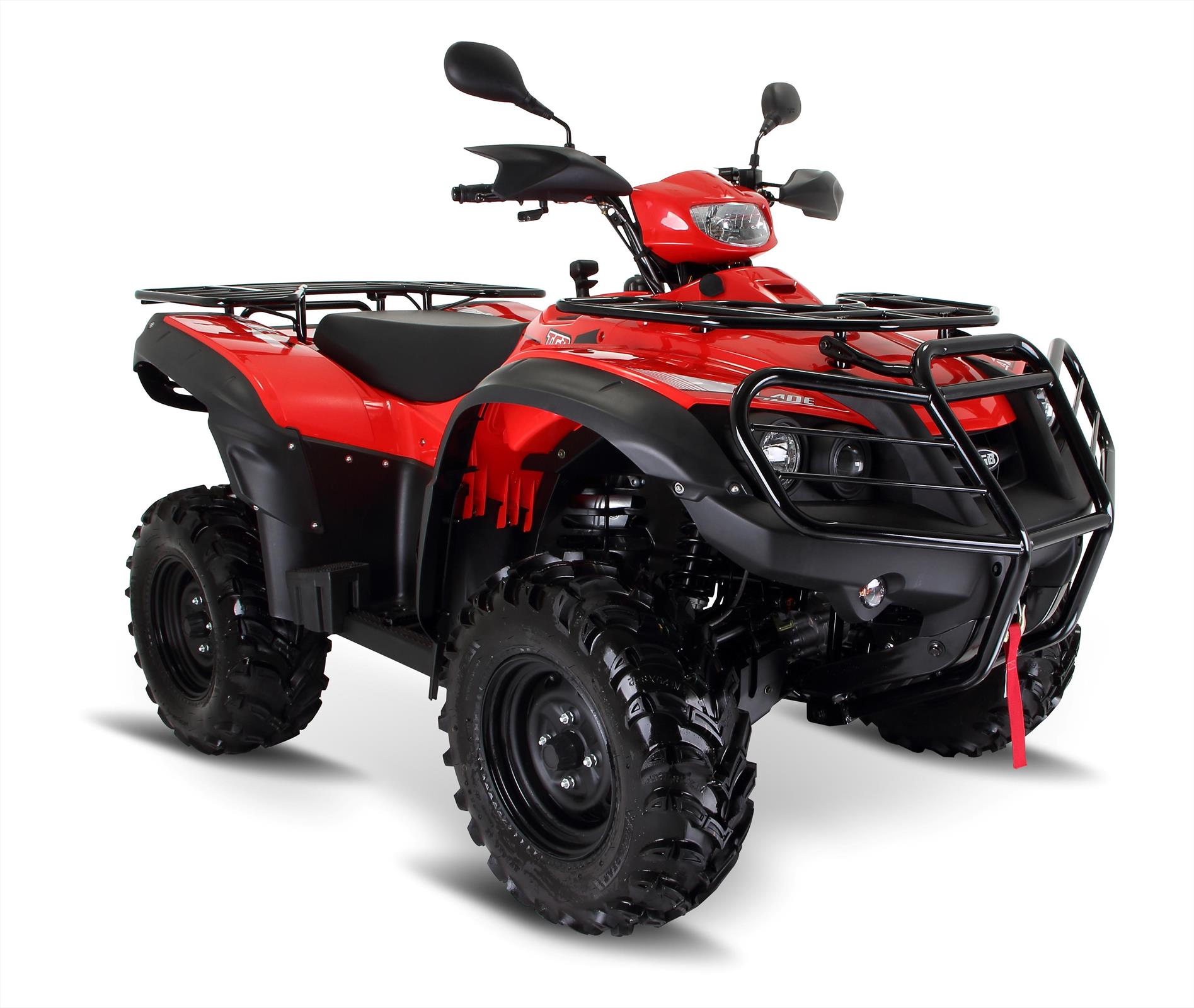 tgb blade 550sl irs 4x4 red utility agricultural quad bike. Black Bedroom Furniture Sets. Home Design Ideas