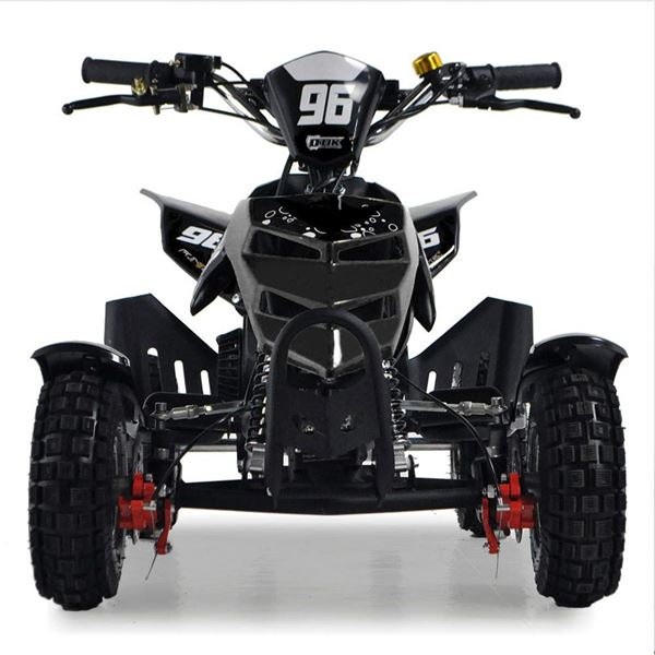 FunBikes 49cc Black Kids Mini Quad Bike