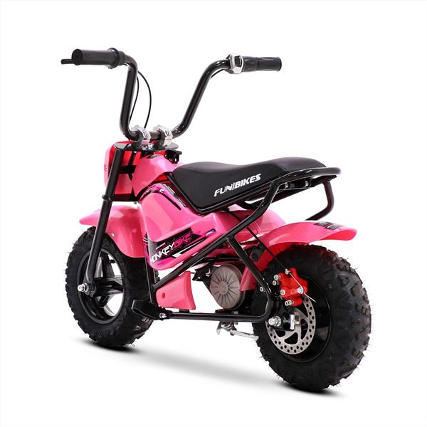 FunBikes MB 43cm Pink 250w Electric Kids Monkey Bike