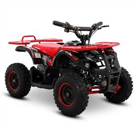 FunBikes Ranger 800w Red Kids Electric Mini Quad Bike V2