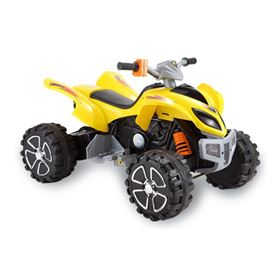 FunBikes Yellow Electric Ride On Quad