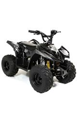 FunBikes Tino Rally 90cc Black Childs Quad Bike