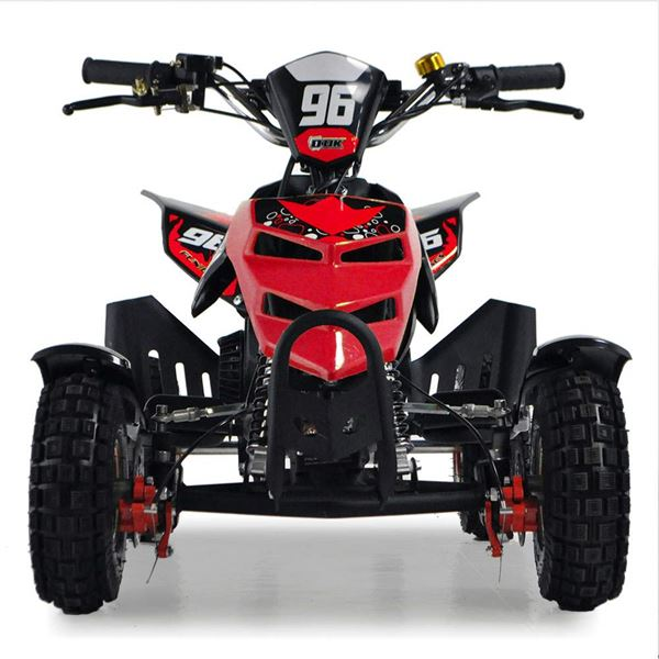 FunBikes 49cc Red Kids Mini Quad Bike