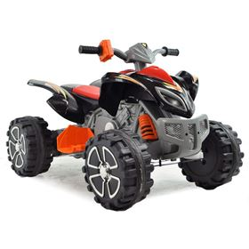 FunBikes Black Electric Ride On Quad