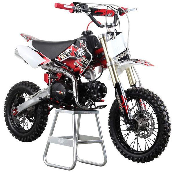 M2R Racing KX125F 125cc Petrol 76cm Red Pit Bike