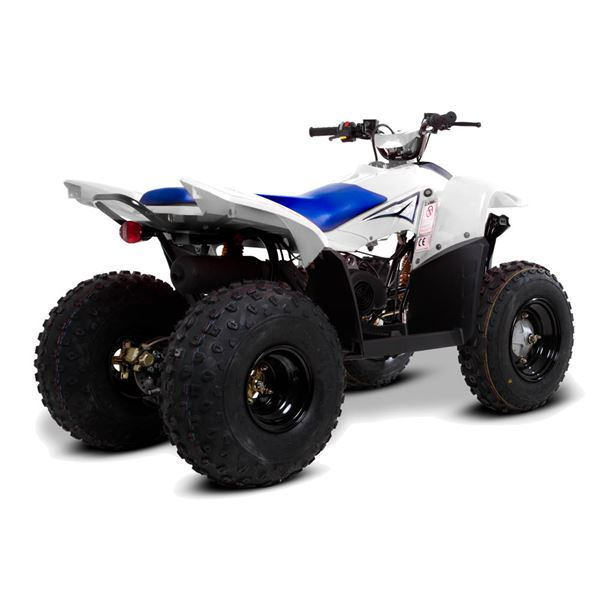 SMC Hornet 100cc White Childs Quad Bike