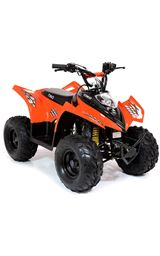 FunBikes Tino Rally 90cc Orange Childs Quad Bike