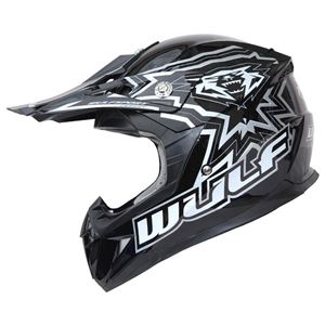Wulfsport Junior Flite Xtra Kids Crash Helmet Black