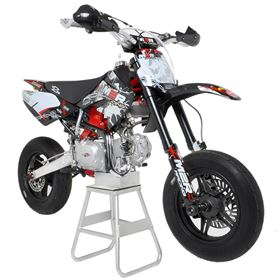 "M2R Racing KX140SM 140cc lowered 76cm ""Race Ready"" Supermoto Pit Bike"