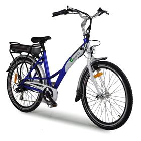 "Enhance 26"" Tourer Blue Electric Bike"