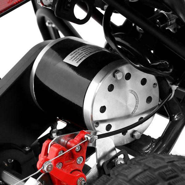 FunBikes 800w Black Electric Kids Mini Quad Bike