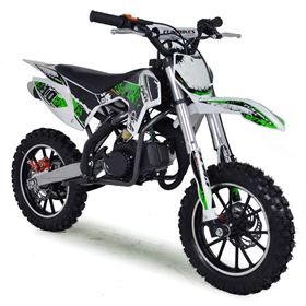 FunBikes MXR 50cc 61cm Green kids Mini Dirt Bike