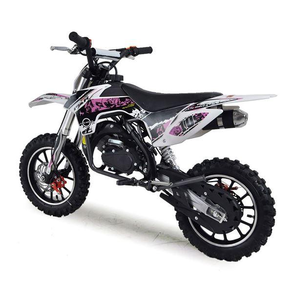 Funbikes Mxr 50cc 61cm Pink Kids Mini Dirt Motorbike