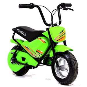 FunBikes MB 43cm Green 250w Electric Kids Monkey Bike