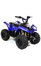 FunBikes Tino Rally 90cc Blue Childs Quad Bike