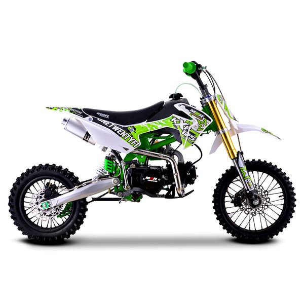 M2R Racing KXF125 120cc 76cm Green Pit Bike