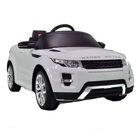 Range Rover Licenced Evoque White Electric Ride On 4X4 SUV